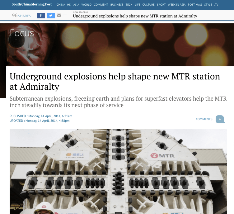 Working Underground – South China Morning Post