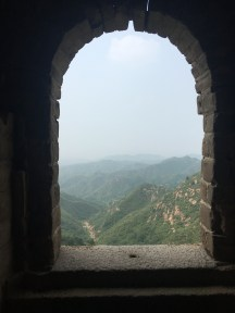 Great Wall at Jinshanling, July.