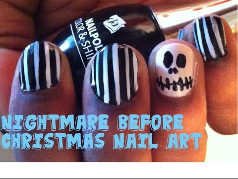 How To: Nightmare Before Christmas NOTD