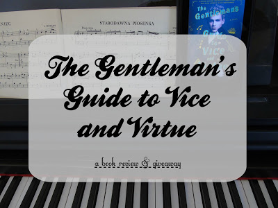 The Gentleman's Guide to Vice and Virtue [Book Review]