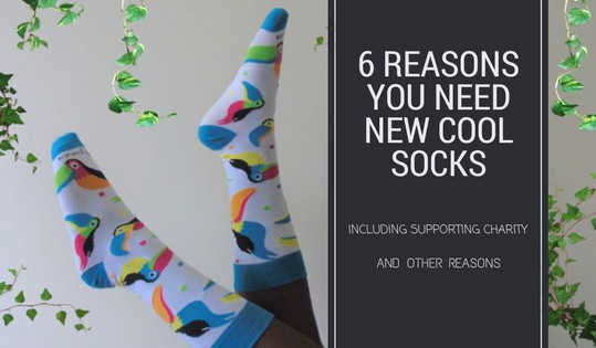 6 Reasons You Need New Cool Socks!