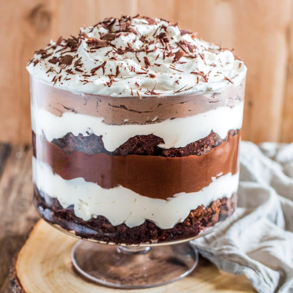 Brownie Trifle  Olivia's Cuisine