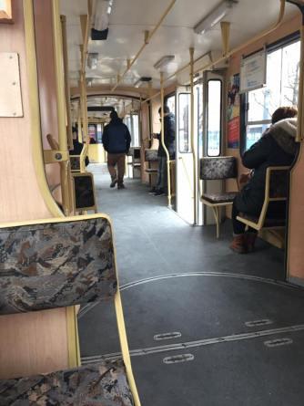 City Tram (inside)