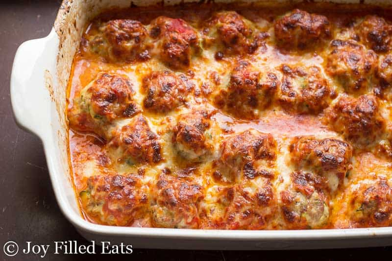 meatball, casserole, italian, cheese, parm
