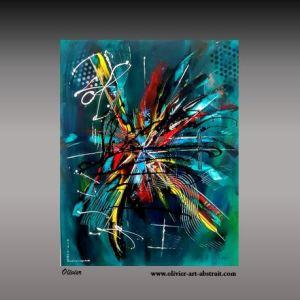Effervescence Olivier art abstrait vous présente des tableaux muraux abstrait pour votre décoration d'intérieur
