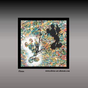 HESTIA Olivier art abstrait vous présente des tableaux muraux abstrait pour votre décoration d'intérieur