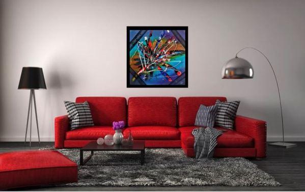 Orenda Olivier art abstrait vous présente des tableaux muraux abstrait pour votre décoration d'intérieur