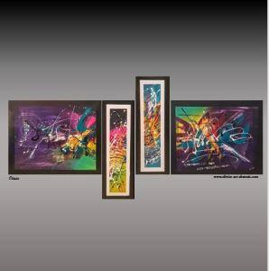 Les Expositions Olivier art abstrait vous présente des tableaux muraux abstrait pour votre décoration d'intérieur