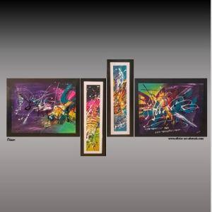 Mahéo Olivier art abstrait vous présente des tableaux muraux abstrait pour votre décoration d'intérieur