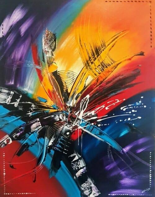 Wisdom Olivier art abstrait vous présente des tableaux muraux abstrait pour votre décoration d'intérieur