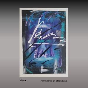 Description Kanoi Tableau abstrait coloré Description •Toile peinte à la main •Titre : Kanoi •Dimension : 60 x 50 cm •Composition: 1 toiles de 60 x 50 cm •format du tableau: Rectangulaire •Technique : Acrylique sur toile •Couleurs : Blanc Noir, Jaune, violet, turquoise, Rouge, Pourpe •Finition : Deux couches de Vernis acrylique. •Finition : Les côtés sont peints afin de permettre une accroche immédiate •Signé par l'artiste sur le devant •Signé par l'artiste au dos •Certificat d'authenticité signé •Certificat de Cotation (valeur du tableaux 428€) Cotation Olivier Art Abstrait •Certificat Convention d'expert Cotation I-CAC
