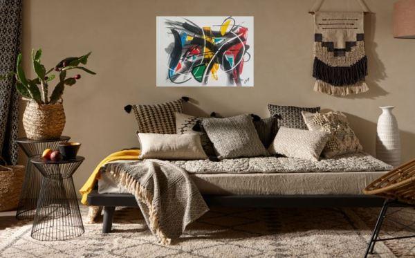 Kronos Olivier art abstrait vous présente des tableaux muraux abstrait pour votre décoration d'intérieur