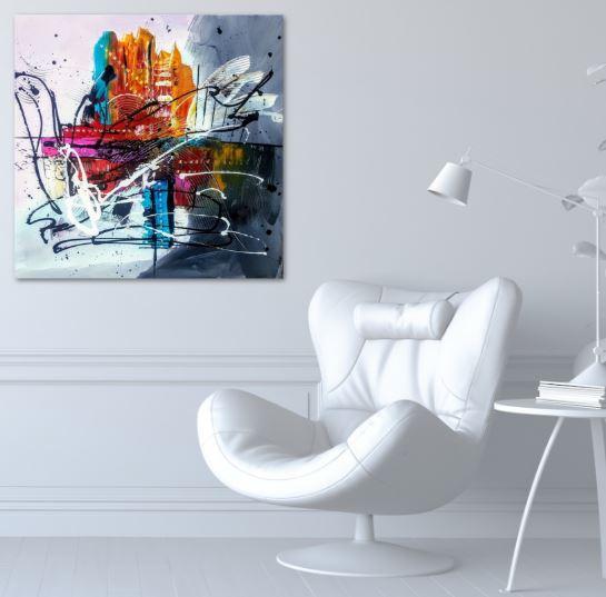 La Cruz de Fero Olivier art abstrait vous présente des tableaux muraux abstrait pour votre décoration d'intérieur