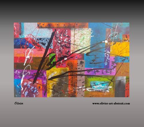 Rainbow Of Paint Tableau
