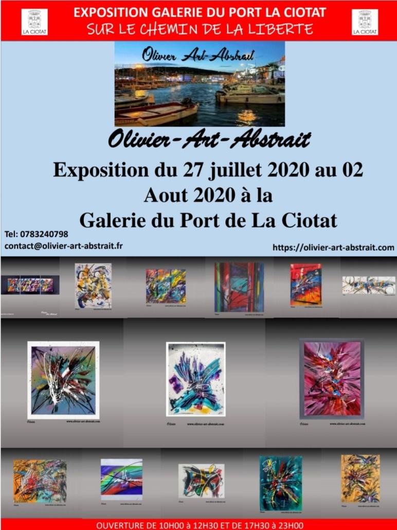 exposition olivier art abstrait