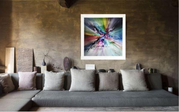 EPONA Olivier art abstrait vous présente des tableaux muraux abstrait pour votre décoration d'intérieur