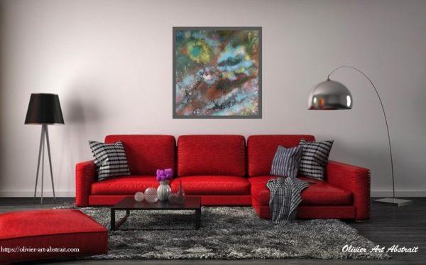ATOUM Olivier art abstrait vous présente des tableaux muraux abstrait pour votre décoration d'intérieur