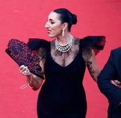 Rossy de Palma, Festival de Cannes, Red Carpet, Olivier Bernoux, Fans & Friends, Fans & Bags, Fans & Clutches, Fans & Fashion, Weapons of Seduction, Fans, Eventail, Abanico, Handfan, fancy, Elegant, Evening, Handmade