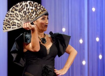 Rossy de Palma, Olivier Bernoux, Fans & Friends, Fans & Bags, Fans & Clutches, Fans & Fashion, Weapons of Seduction, Fans, Eventail, Abanico, Handfan, fancy, Elegant, Evening, Handmade, provocation