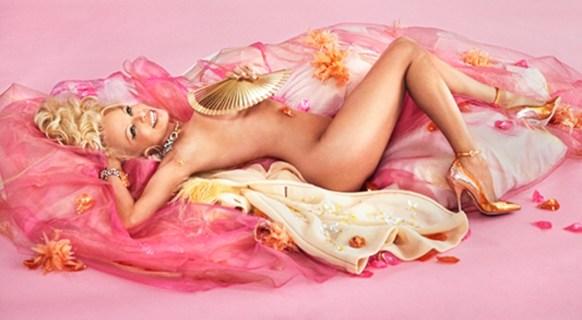 Pamela Anderson, David Lachapelle, Olivier Bernoux, Fans & Friends, Fans & Bags, Fans & Clutches, Fans & Fashion, Weapons of Seduction, Fans, Eventail, Abanico, Handfan, fancy, Elegant, Evening, Handmade, provocation