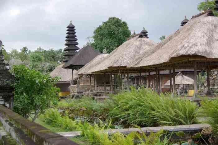 La partie la plus sacrée du temple de Taman Ayun, le 5 juillet 2007