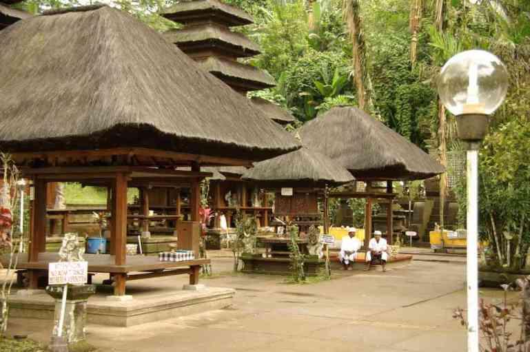 La partie la plus sacrée du temple de Pura Luhur Batukau, le 6 juillet 2007