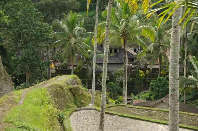 Arrivée au temple de Gunung Kawi, le 9 juillet 2007