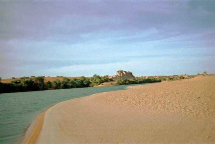 Lac d'Ounianga Kébir (24 février 1998)