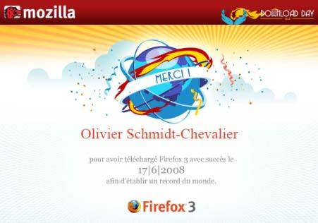 Certificat Mozilla OSC