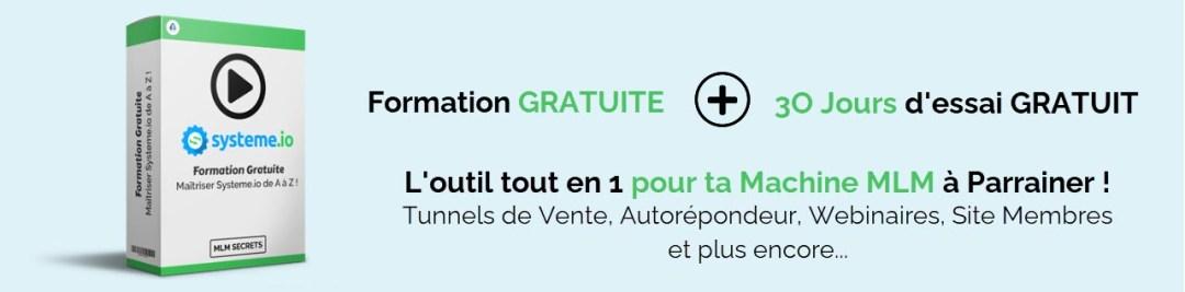 Systeme.io Avis Formation Gratuite - 30 Jours Essai Gratuit