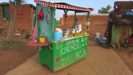 Frree market stall