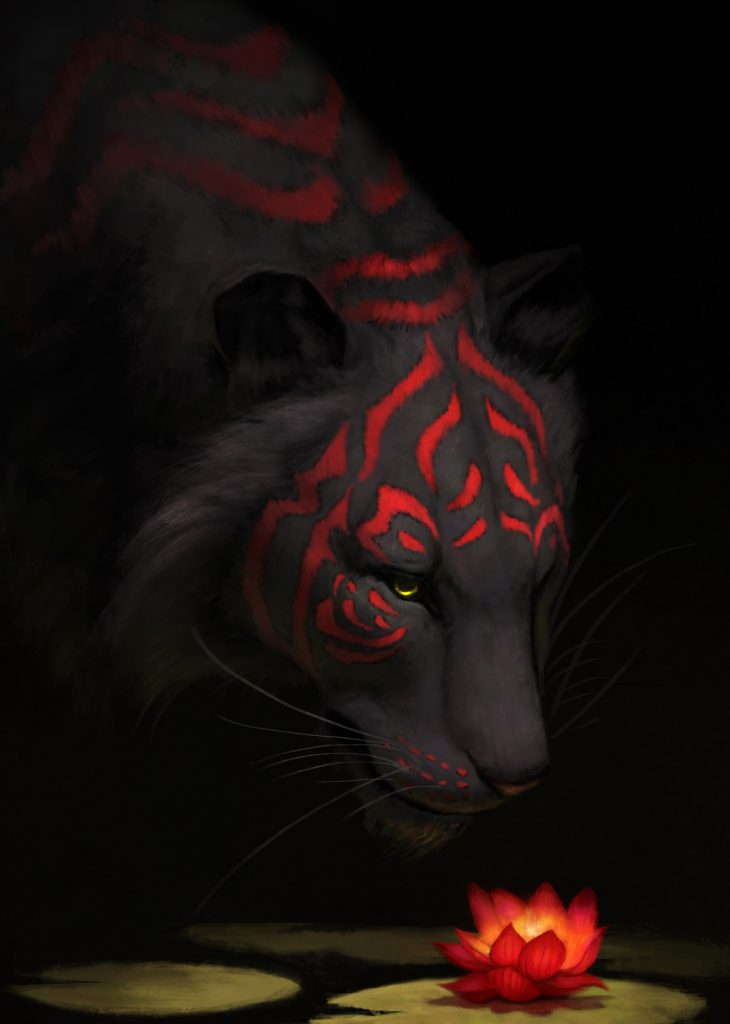 Jade Mere tiger