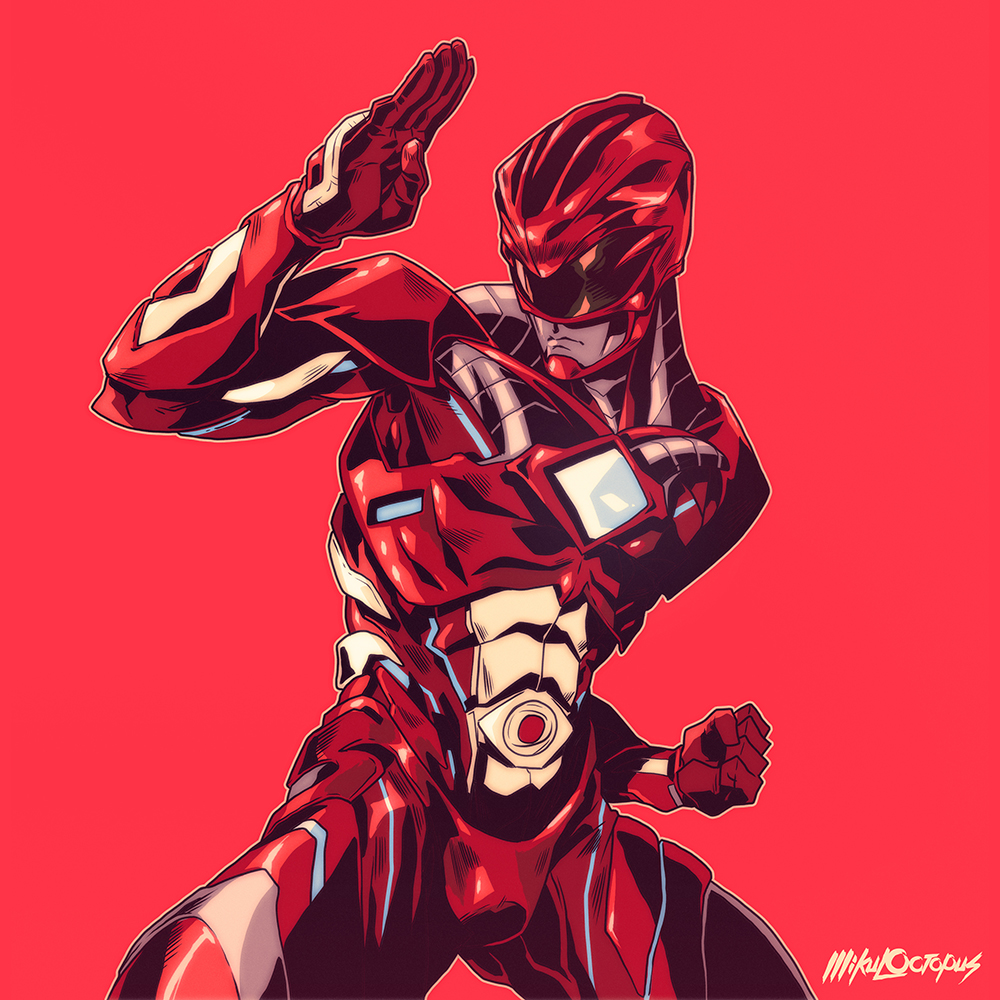 red rangers Mike Anderson