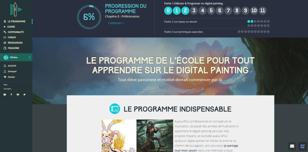 Digital Painting School
