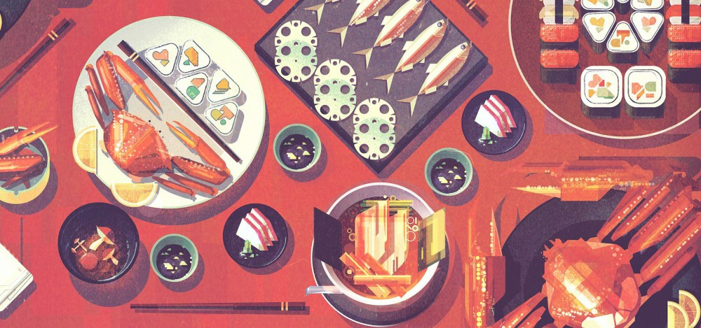 James Gilleard food