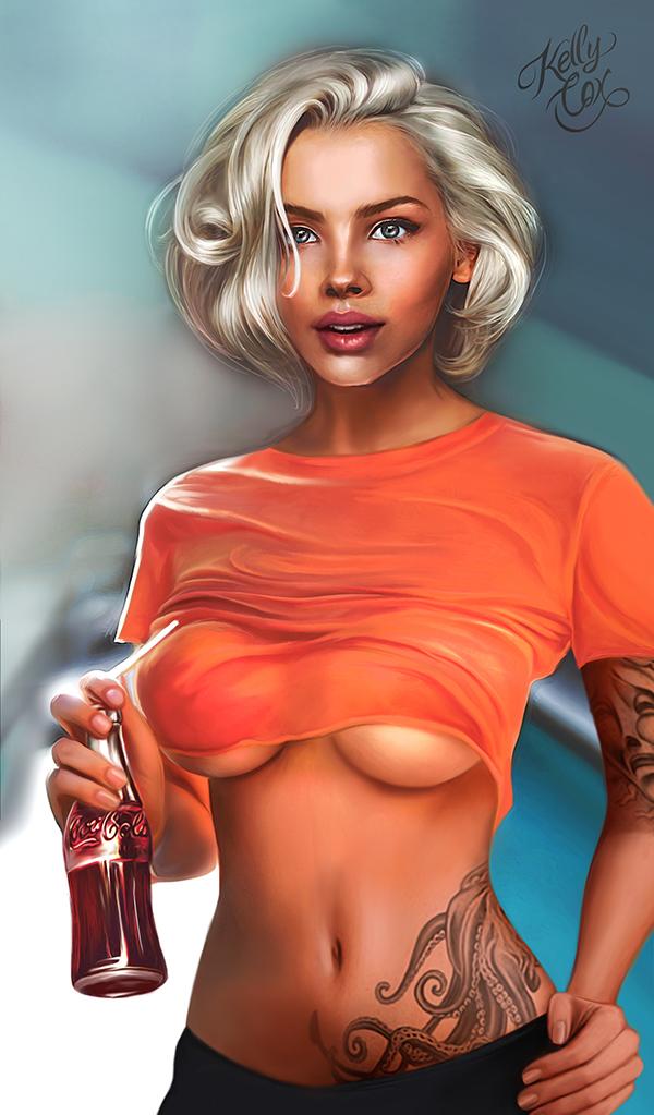 Kelly Cox hot girl
