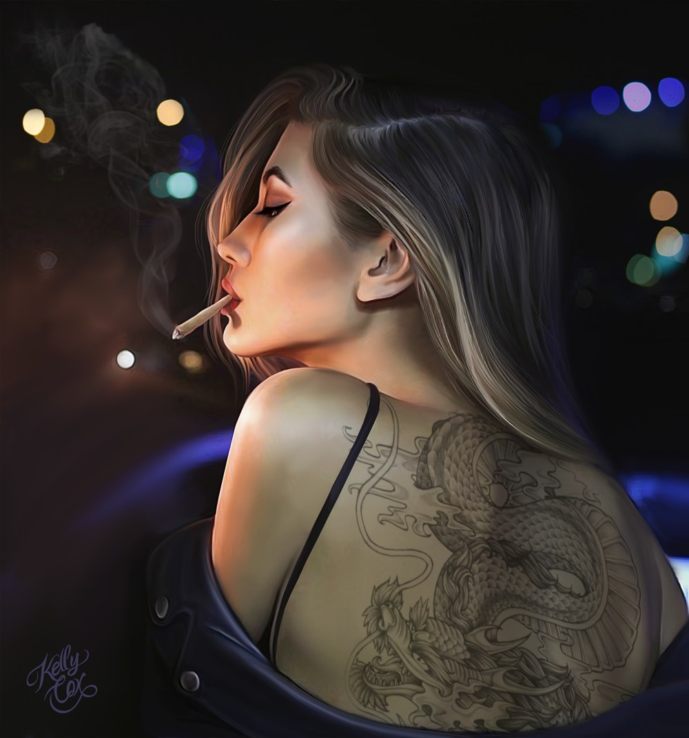 Kelly Cox smoke