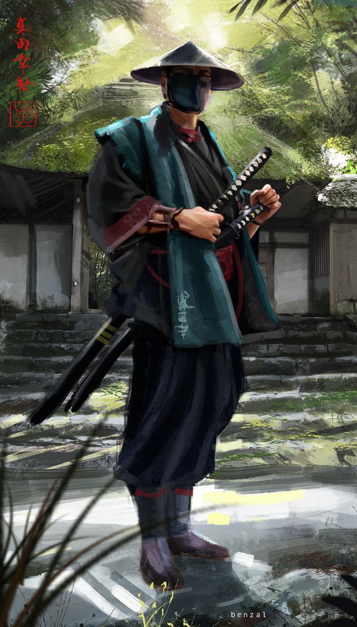 david-benzal-ron-samurai