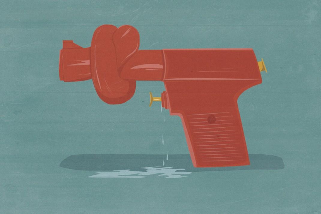 pistola-acqua-anna Andrea Ucini