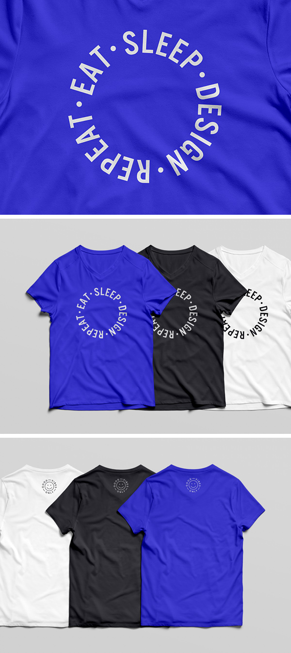 mock-up tee shirt
