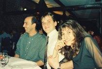 1998 avec les collègues de Bruxelles