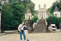 2001 Près de l'accouchement nous visitons le Portugal & Espagne