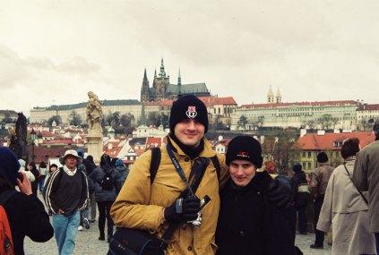 2001 et la Tchéquie Prague quelle beauté...