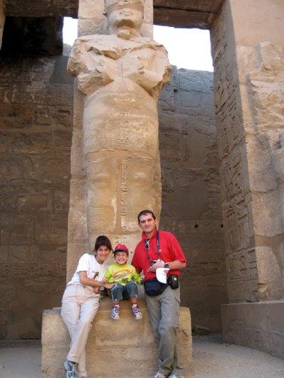2007 Premier voyage loin pour Marc - Egypte Luxor