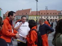 2008 City hunt Sibiu Actavis top managers Europe