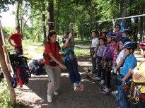 2012 British School tree climbing training