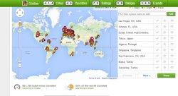 2015 pays visités
