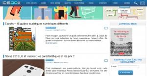 IDBOOX article sur e-guides de rêve