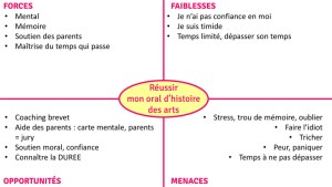 Diagramme SWOT FFOM - coaching brevet & projets - OlivierRebiere.com