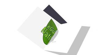 Vidéo intro book logo